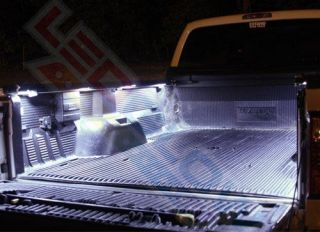 Truck Accessories 8PC Truck Bed LED Lighting Kit Pickup Truck Beds Accessory Pic