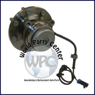 New Front Wheel Bearing Hub Assembly Chevy Express and GMC Savana 3500 2WD