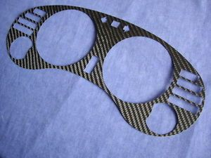 DSM Eagle Talon MK2 95 99 Cluster Dashboard Dial Gauge Bezel Real Carbon Fiber