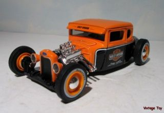 Harley Davidson Hot Rod Ford 1 24 Scale Diecast 1929 Rat Rod O