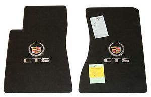 Lloyd Mats Velourtex Front Floor Mats Custom Made to Fit Cadillac cts Coupe Rwd