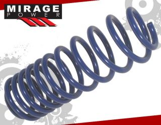 1995 1999 Mitsubishi Eclipse Talon JDM lowering Spring Lower Drop Kit Blue