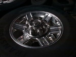 "4 17"" Dodge RAM 2500 8 Lug Alloy Wheels Rims Firestone Tires HT 2384"