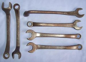 Nice Lot Vintage Ford Model T A Tool Kit Wrenches Old Antique Tools