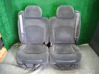 2002 Chevy Tahoe Silverado Truck Front Bucket Seats Cloth
