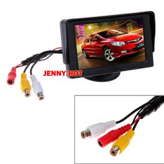 4 3 inch Color TFT LCD Rear View Monitor for Car Reverse Backup Camera