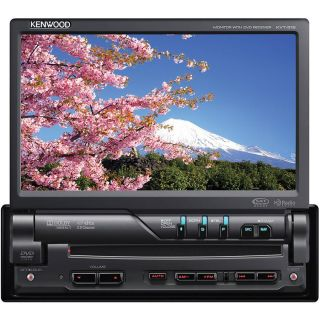 "Kenwood KVT 516 DVD 7"" Double DIN Car Entertainment System with Full Warranty 19048186119"
