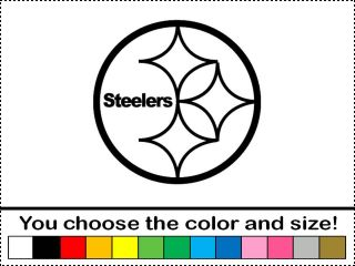 Steelers Football Sticker Vinyl Decal Car Wall Laptop Door Pittsburgh Emblem