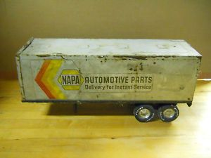 Vintage Nylint Napa Automotive Parts Semi Trailer Only Parts or Restoration