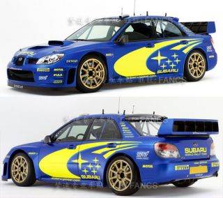 Rally Racing Car Decals Vinyl Sticker Perfect Subaru Impreza Liberty WRX STI