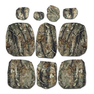 Ford F150 Custom Fit Front Seat Cover Genuine Realtree Camo 2012 2013 2014