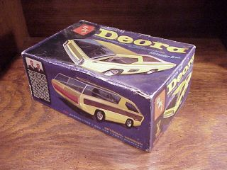 AMT Deora Custom Dodge Pickup Truck Alexander Brothers Model Kit No 2030 200