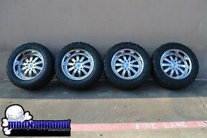 "22"" Hummer H2 asanti AF134 Chrome Wheels Rims 37"" Kumho Tires 37x13 50R22 Dallas"