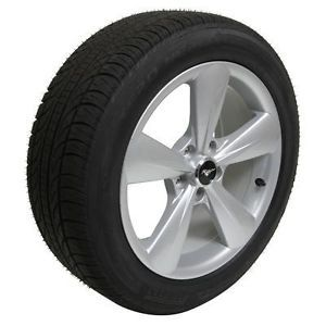 "2005 2013 Ford Mustang 18"" Wheel and Tire Package w Pirelli Tires New Set of 4"