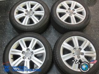 Four 09 12 Audi A4 Factory 17 Wheels Tires Rims 58836 A3 8K0601025B