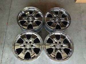 "4 Factory 20"" Cadillac Chevy GMC Chrome Alloy Wheels 6 Lug Rims Escalade GM"