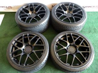 "19"" Ruger Mesh Wheels Porsche Narrowbody 993 996 997 C2 C4 Carrera 911 Tires 18"