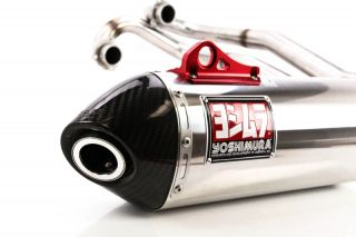 11 12 Polaris Ranger RZR XP 900 Yoshimura RS 4 Full Exhaust Stainless Steel