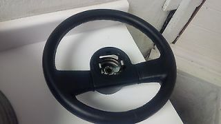 86 89 Corvette C4 Black Leather Steering Wheel Used 12K