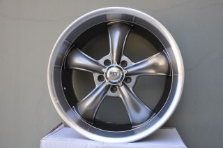 "20"" American New 2008 2013 Chevrolet Camaro Wheels Silver Rev Classic Racing 105"