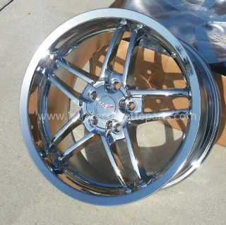 "17 18"" Chrome Z06 Corvette Ultra Deep Dish Corvette Wheels C5 in Stock"