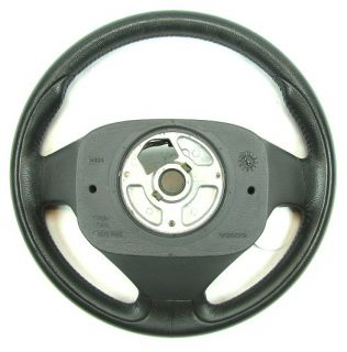 Volvo Type R Leather 3 Spoke Steering Wheel Fits XC90 S60 01 04