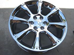 "22"" New Chrome GMC Sierra Chevy Avalanche LTZ Tahoe Suburban Cadillac Wheels"