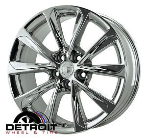 Cadillac XTS PVD Bright Chrome Wheels Factory Rim 4697 Exchange 2013 2014