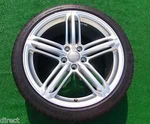 4 Perfect New Genuine Factory Audi A5 S5 19 inch CP7 Wheels Tires Quattro