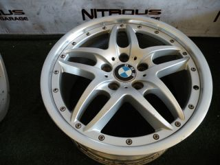 "1 18"" BMW E46 Rear Wheel 1097187 3 Series 323 325 328 330 Factory Style 71"