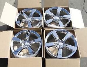 20'' Chevy Camaro Camero Wheels Rims Factory 2011 2012 2010 New Chrome