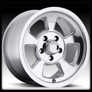 15x8 Pacer Alloy 541P R Window Polished 5x4 5 Cherokee Wrangler Ford Wheels Rims