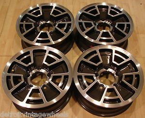 70s 80s Custom 15 Ford Factory Bronco Truck Van Rims Mags Wheels 5x5 5