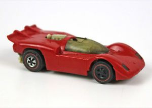 1970 Hot Wheels Sizzlers Ferrari Car Red
