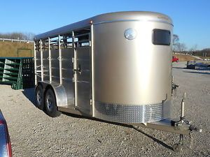 New 2014 Calico 16' Stock Horse Trailer Year End Sale Save $$$ Dr Trailer