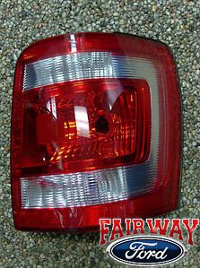 08 09 10 11 12 Escape Genuine Ford Parts RH Passenger Tail Lamp Light New