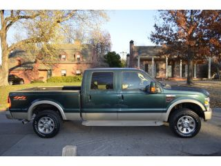 2008 Ford F250 King Ranch 6 4 4x4 Oklahoma Truck