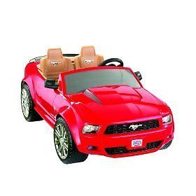 New Fisher Price Ford Mustang Power Wheels Ride on Car