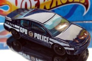 Hot Wheels Batman Begins Gotham City Saturn ion Police Car