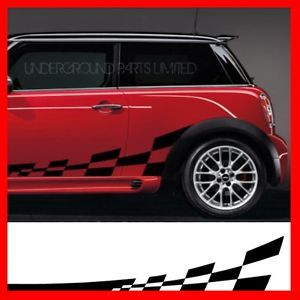 Chequered Flag Graphics 4 Mini One John Cooper Works 1 6 D Diesel s R56 JCW C 4