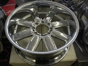 22x9 5 New Helo 837 Chrome Wheels 8x165 Dodge Chevy GMC Ford 8 Lug