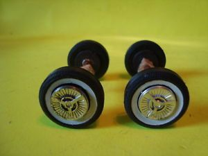 1 25 Scale Model Car Parts 1958 Model Car Wheels Axles Axle Blocks