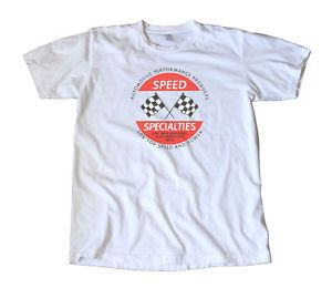 Vintage Speed Specialties Decal T Shirt Hot Rod Racing