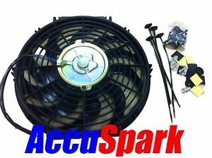 Accuspark Electric Car Radiator Cooling Fan Universal 12 inch Fitting