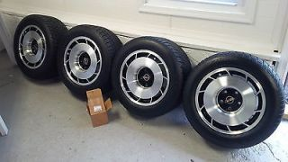 1985 Corvette Aluminum Factory 16 inch Wheels with Tires Set of Four