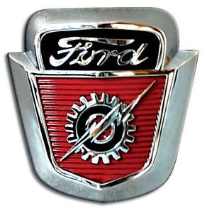 New Hood Emblem 1953 1954 1955 1956 Ford Pickup Truck F100 F600