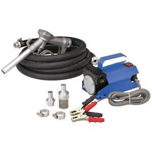 New 12 Volt 10 GPM Auto Diesel Gas Fuel Transfer Pump