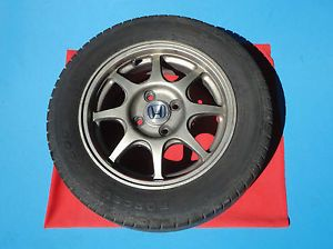 Enkei Honda Civic HX Wheel Super Light Rim with Center Cap Tire 4x100 Acura 14""