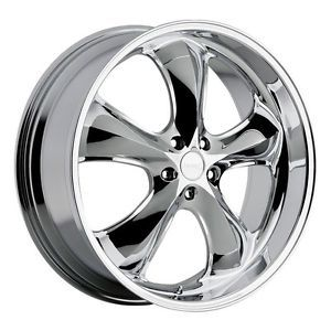 22 inch Incubus Shylock Chrome Wheels Rims 5x115 15 Dodge Charger Chrysler 300C