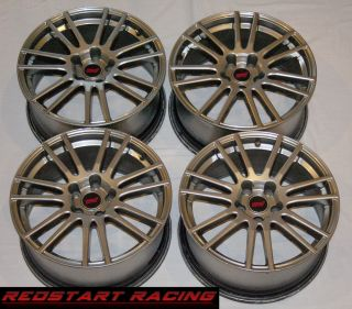 Subaru Impreza WRX STI Enkei Wheels Rims 18'' 2010 2011 2012 Full Set